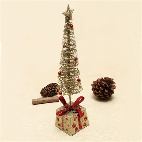 wrought iron mini christmas tree christmas gift desktop