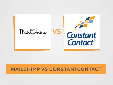 mailchimp vs constant contact which email software best for smbs