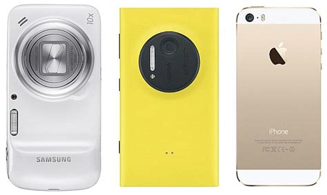 Nokia Lumia Zoom iphone 5s vs nokia lumia 1020 vs samsung galaxy s4 zoom comparison ndtv gadgets360