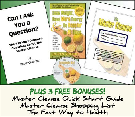 Stanley Burroughs Lemon Detox Diet by Master Cleanse Program Formulated Originally By Stanley
