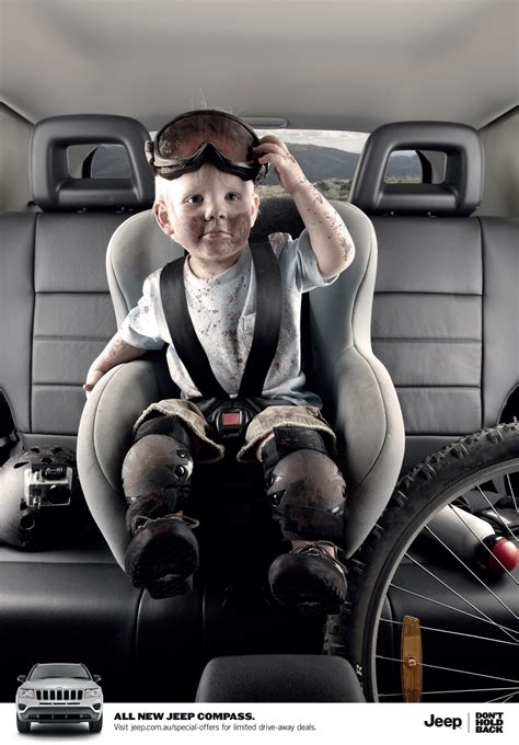 Jeep Baby Print Ad Jeep Compass Baby