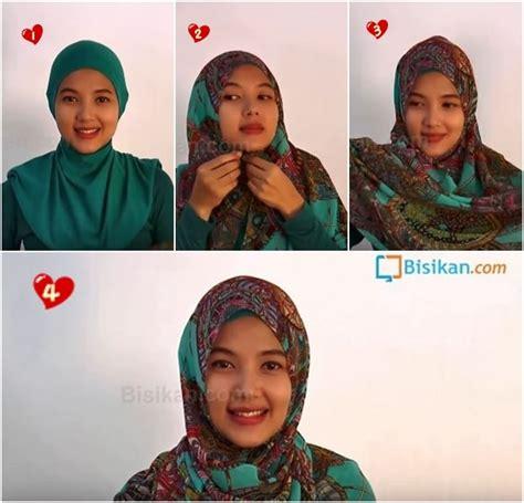 tutorial hijab pesta bisikan com tutorial hijab pashmina casual untuk pesta yang praktis