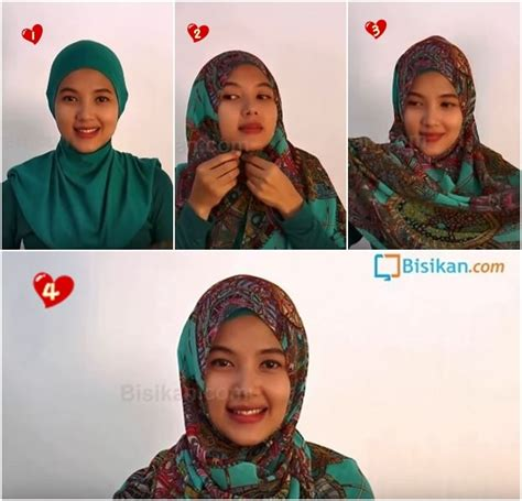 tutorial hijab pesta mudah tutorial hijab pashmina casual untuk pesta yang praktis