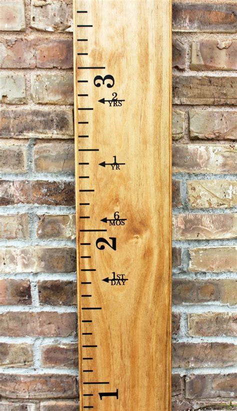 height marker  growth chart ruler vinyl decal arrow