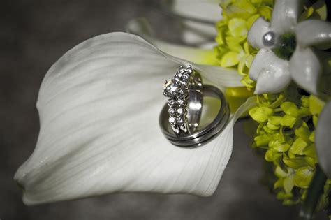 flower design whickham free wedding rings 1 stock photo freeimages com