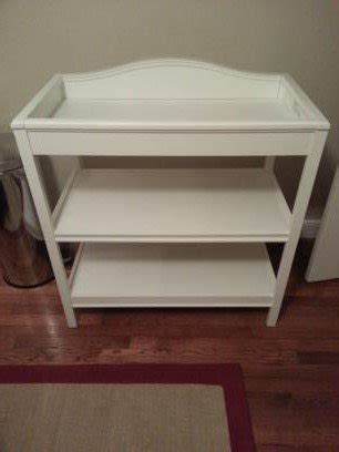 Cheap White Changing Table Just One Year Changing Table White Finish