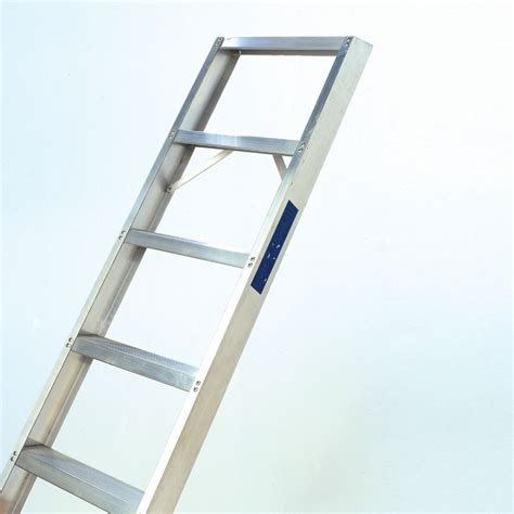 aluminium shelf ladder hulley ladders