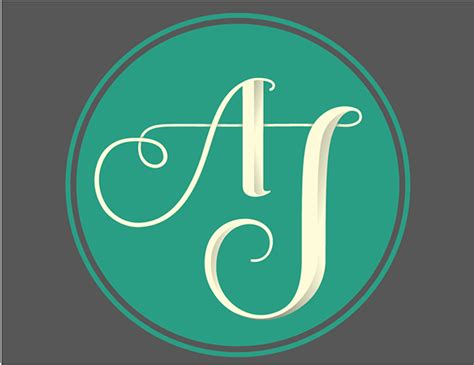 j a a j monogram on behance