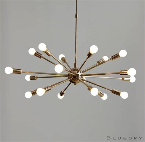 kronleuchter 18 armig atomare 18 leuchten sputnik starburst leuchte armig