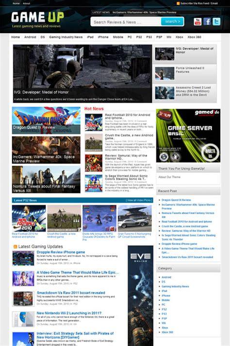 themes games for wordpress game up premium wordpress theme
