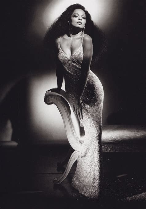 diana ross sequin gown dress black white