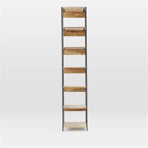 modular bookshelves industrial modular 17 quot bookshelf west elm