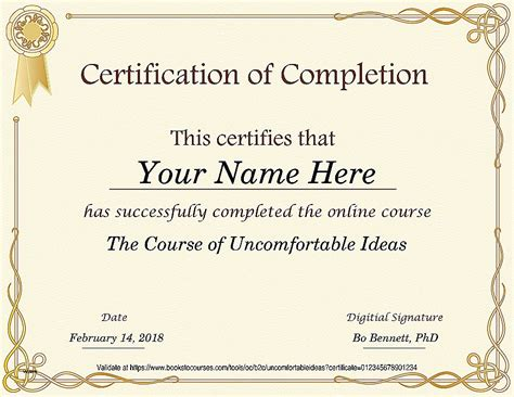 Cpe Certificate Template by Cpe Certificate Of Completion Template Choice Image