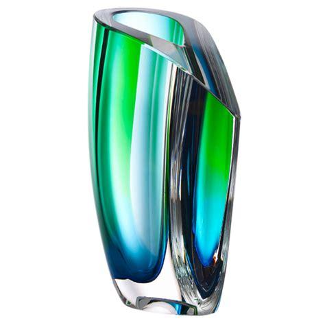 Kosta Boda Vase by Vase Green Blue Kosta Boda Us