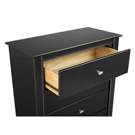 L For Nightstand 3 Drawer Nightstand In Black Finish Bdnh 0339 1
