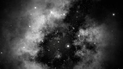 White Galaxy motion serene space galaxy and background