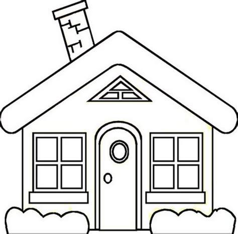 imagenes de casas lindas para dibujar dibujos de casas con chimenea para colorear
