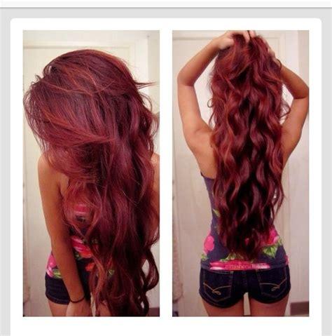 colour style hair hair color hair style colors red long hair