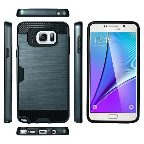 Acc Card Slot Samsung Galaxy A710 Hardcase Cover Armor A7 2 hybrid slim credit card slot cover for samsung galaxy note 5 ebay
