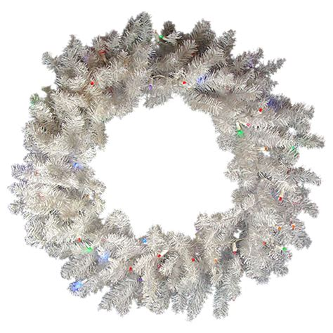 walmart pre lit wreath with battery and timer northlight 36 in pre lit battery operated led wreath walmart