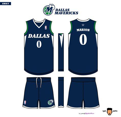 jersey design dallas dallas mavericks uniform logo court concepts ryan