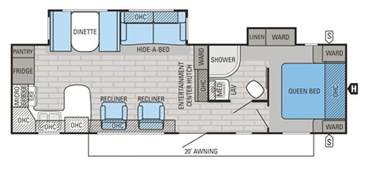 Travel Trailers Floor Plans Gallery For Gt Travel Trailers Floor Plans