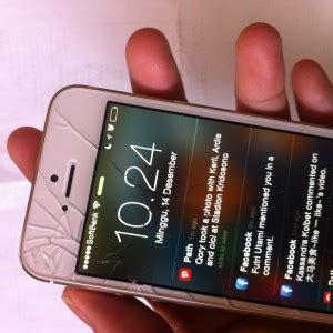mengganti sendiri layar iphone  pecah awaluddin
