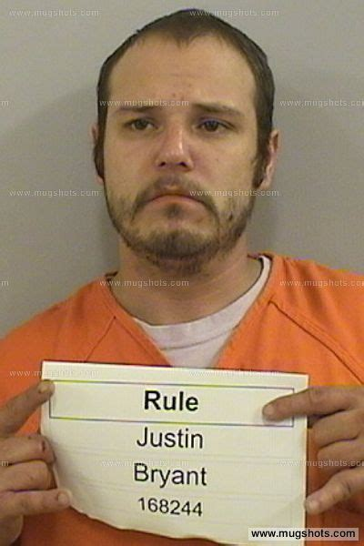 Dickinson County Court Records Justin Bryant Rule Mugshot Justin Bryant Rule Arrest Dickinson County Ia