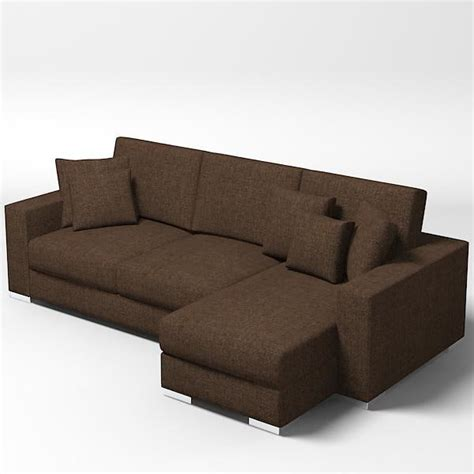 modern settee sofa modern sofa couch 3d model