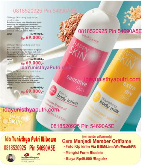 Lotion Happy Skin Hydrating Diskon ida yunisthya pin 54690a5e