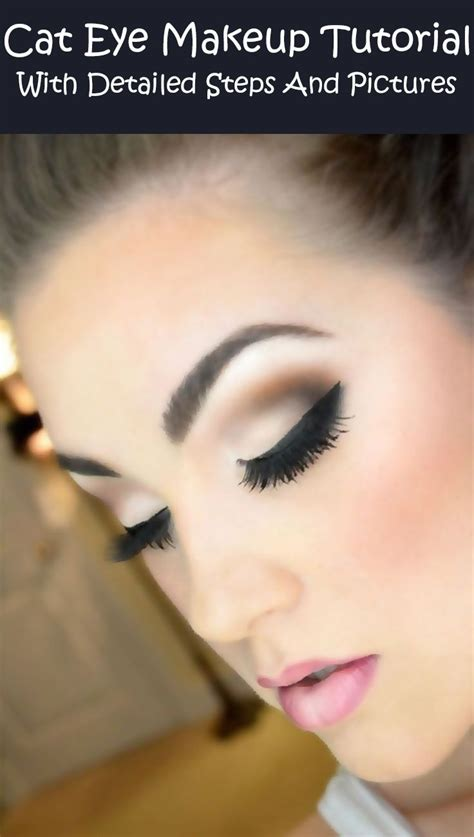 detailed tutorial cat eyeliner video 17 best images about makeup how to s on pinterest get