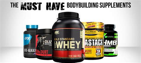 supplements i should take for bodybuilding the must bodybuilding supplements illpumpyouup
