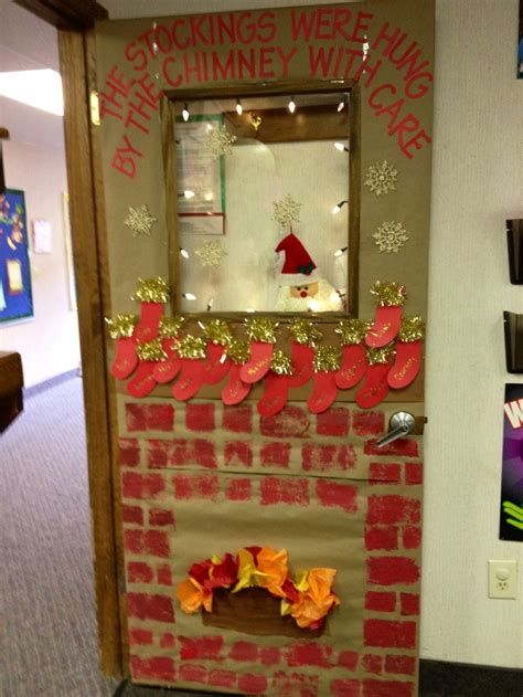 Fireplace Door Decorations by 1000 Images About Classroom Doors On