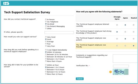 online customer satisfaction survey how to create a customer feedback survey smashing forms