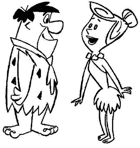Flintstones Coloring Pages Coloringpages1001 Com Flintstones Coloring Pages