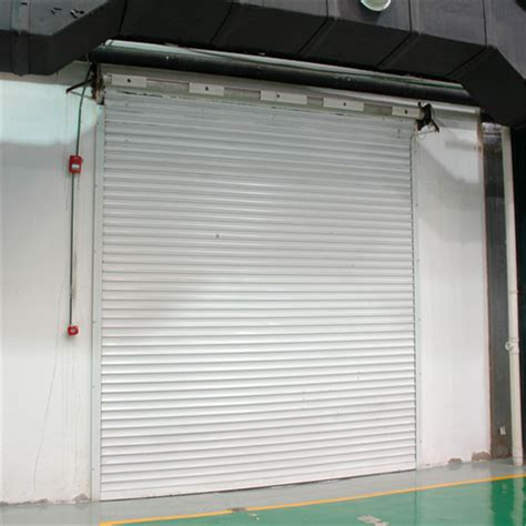 Exterior Electric Control Steel Insulated Roll Up Shutter Insulated Roll Up Garage Doors