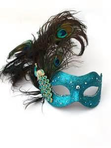 luxury swarovski crystal peacock feather masked ball mask