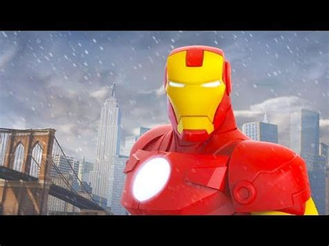 iron man cartoon game kids video games