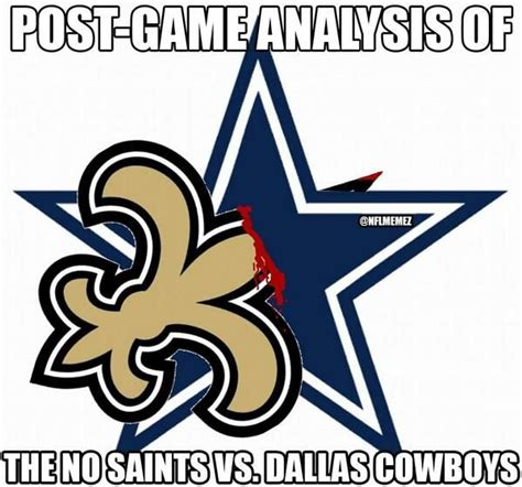Saints Cowboys Meme - 167 best images about who dat on pinterest who dat new