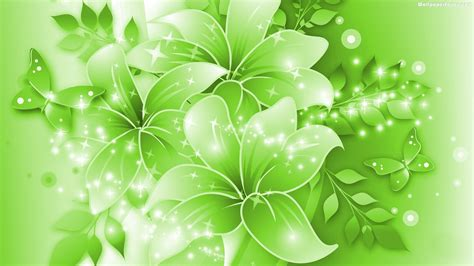green flowers wallpapers hd pictures  hd wallpaper