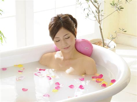 girl bathtub turn you bathtub into a spa resort with these japanese