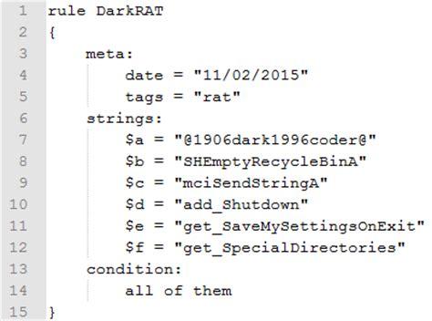 yara pattern matching wiki automated malware analysis introduction yara rule generator