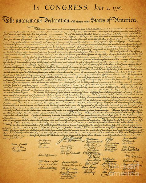 printable version of the declaration of independence 404 not found