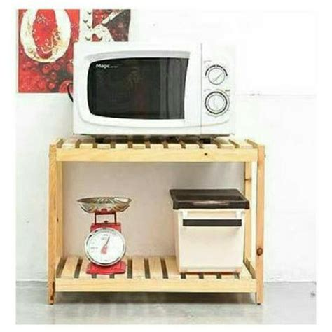 Printer Kayu rak meja bahan kayu untuk kitchen tv laptop komputer