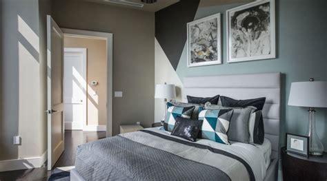 chambre taupe et bleu decoration chambre taupe et bleu visuel 7
