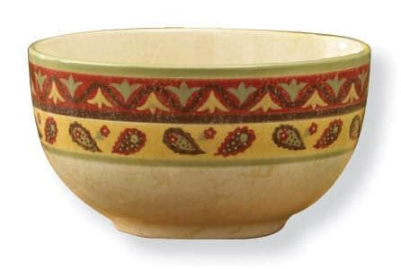 Mangkok Keramik Cereal Bowl Motif spice market cereal bowl