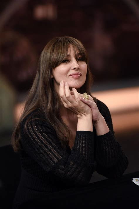 monica bellucci monica bellucci appeared on el hormiguero tv show in madrid 07 04 2017