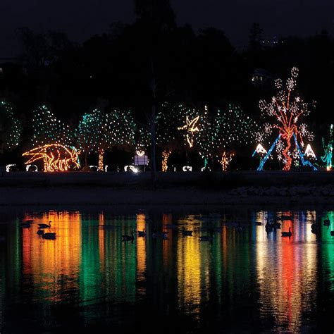 fantasy of lights los gatos ca at vasona lake county