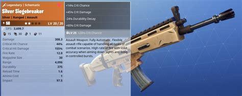what fortnite gun are you the best perk rolls for guns in fortnite fortnite tips
