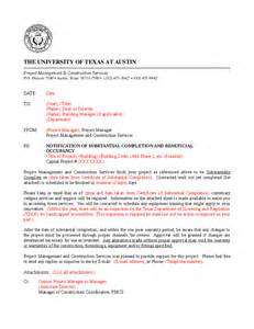 Certificate Of Substantial Completion Template by 28 Certificate Of Substantial Completion Template